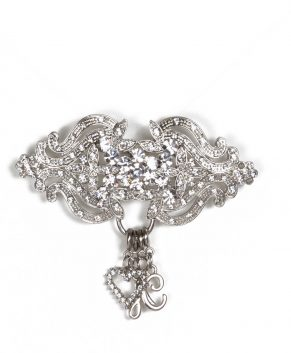 Silver Charm Holder