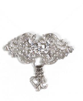Silver Charm Holder