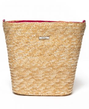 Straw Tote/Beach Bag